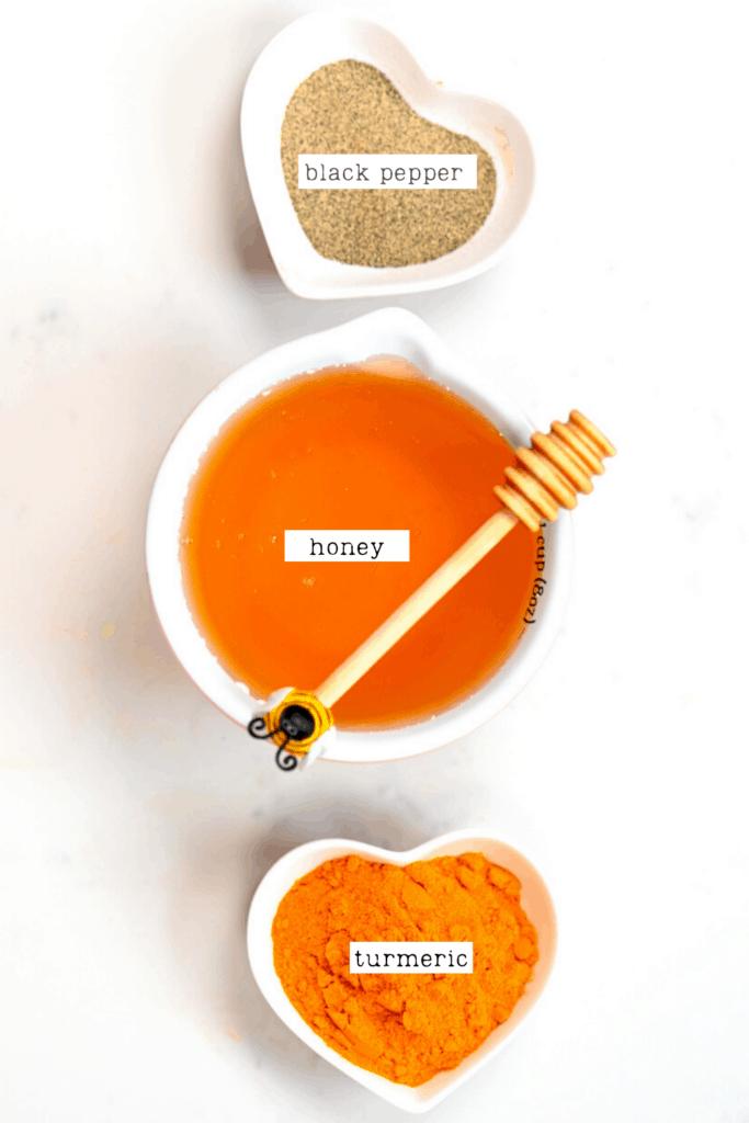 Turmeric Honey ingredients