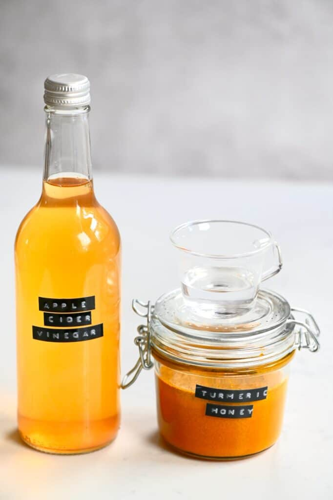 Turmeric Honey and apple cider vinegar