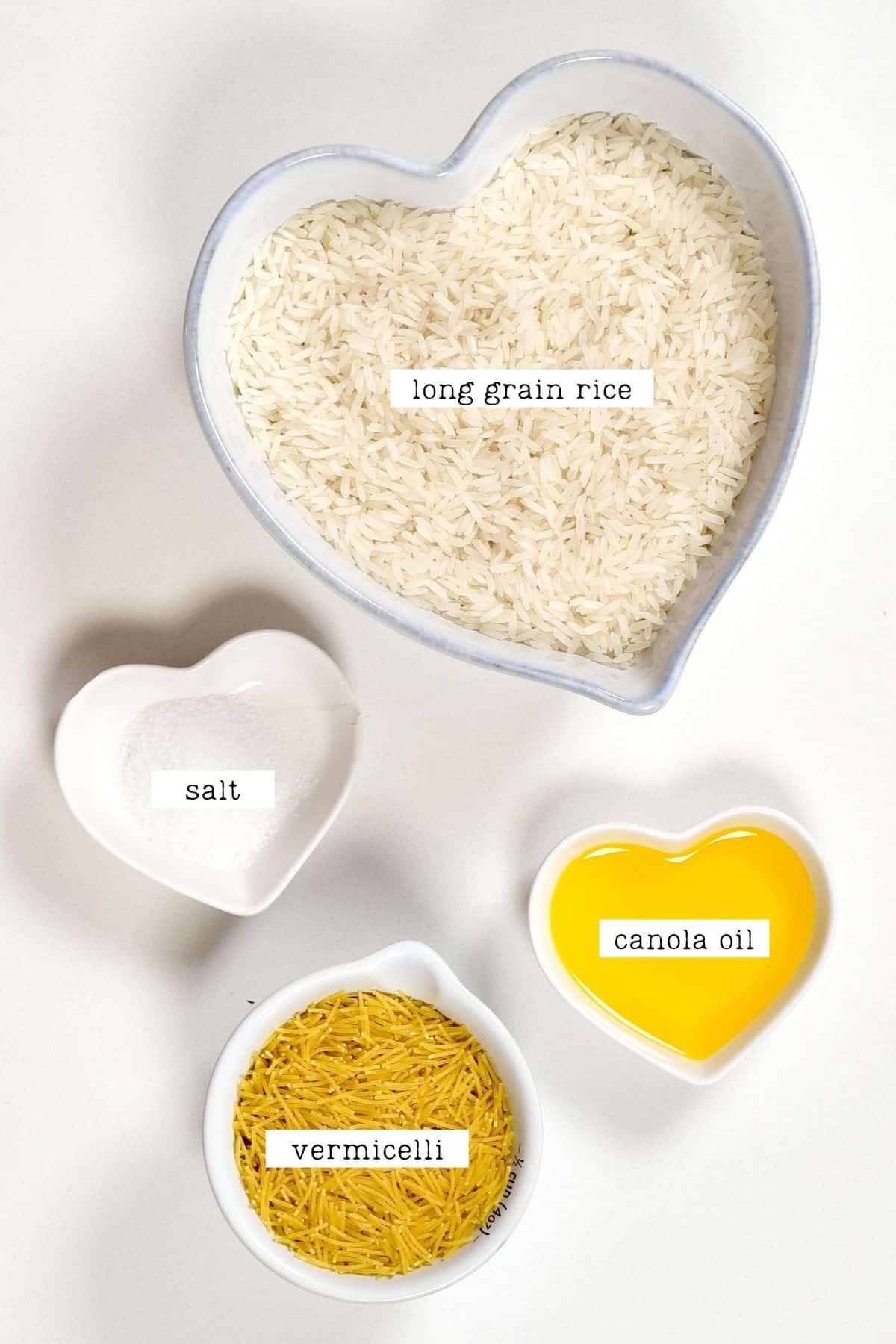 Vermicelli rice Ingredients