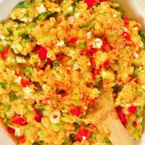 potato salad close up square