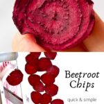 making Beetroot Chips