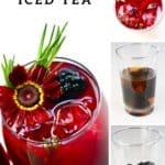 Steps to making Blackberry Iced Tea