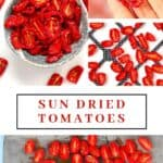 Steps to making Dried Tomatoes