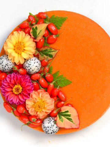 Goji Berries Tart