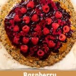 A Raspberry Granola Pizza