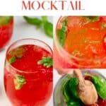 Steps to making a Strawberry Mocktail