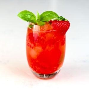 strawberry mocktail