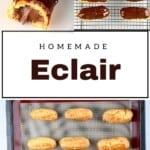 Making Chocolate Eclairs