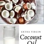 Coconuts and coconut cream