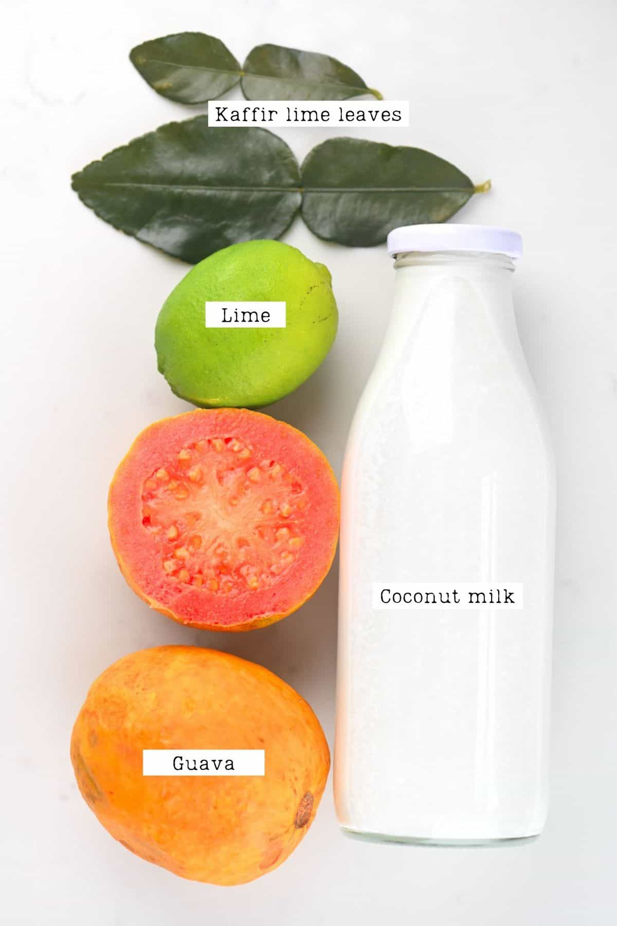 Guava Cocktail Ingredients