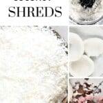 Steps for making Shredded Coconut