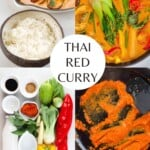 Steps to making Thai Red Curry
