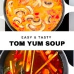 Steps to making Tom Yum Soup