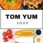 Ingredients and steps to make Tom Yum soup