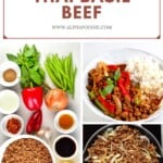 Steps for making Vegan Thai Basil Beef