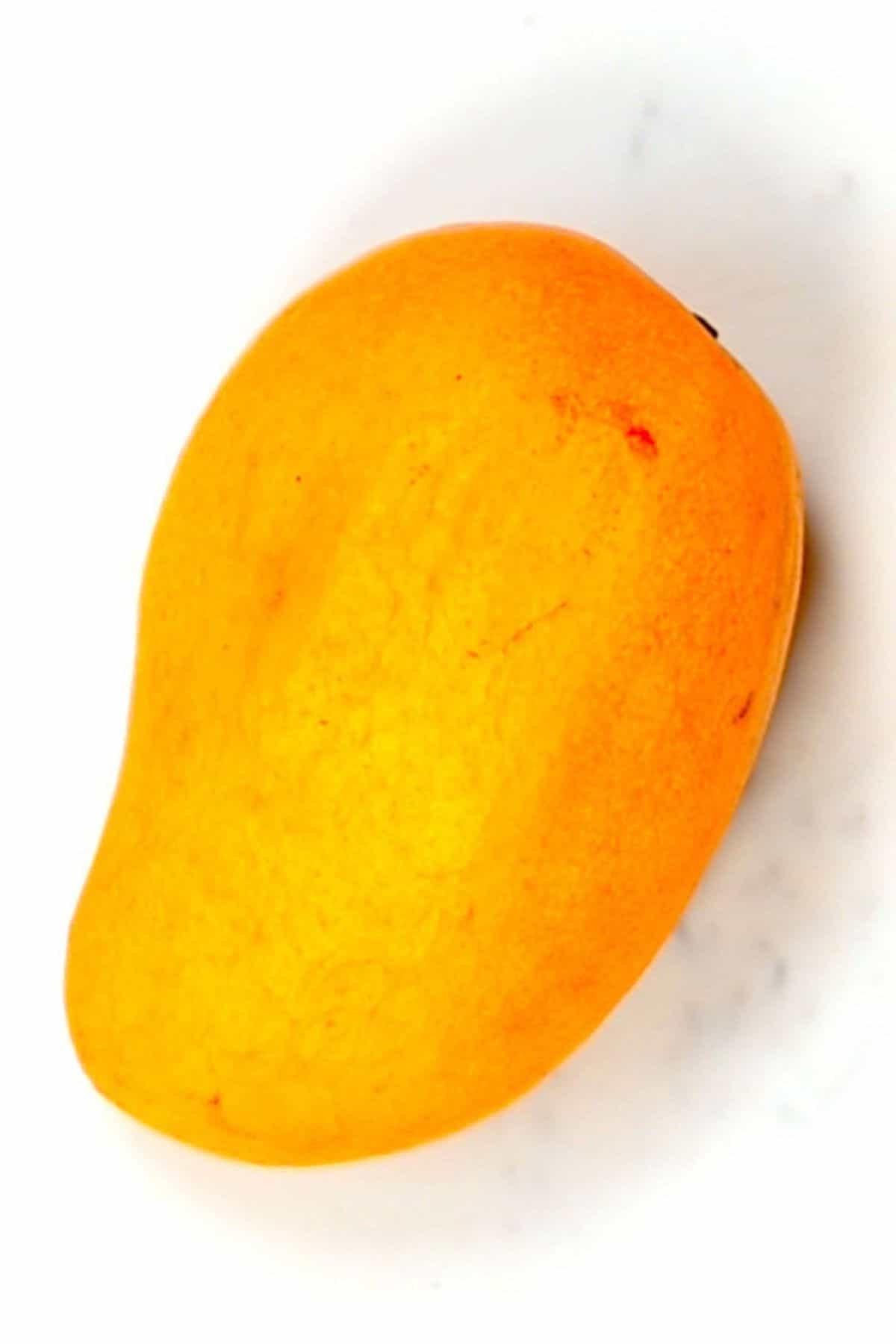 Yellow mango fruit