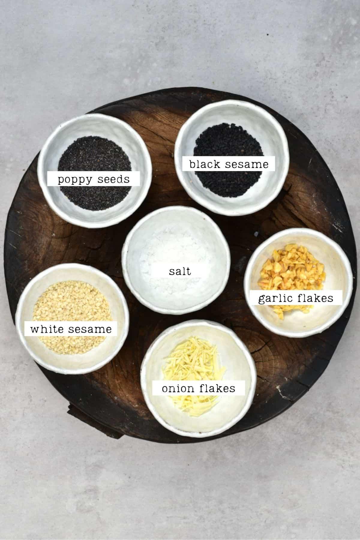 Everything Bagel Ingredients