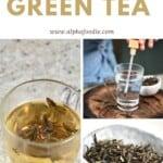 Steps for making green tea