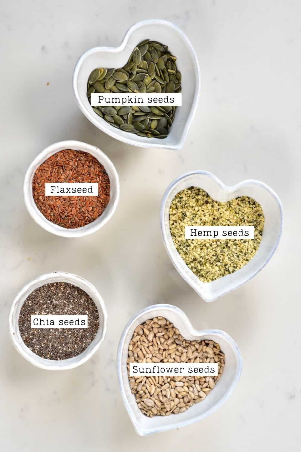 Omega seed mix ingredients