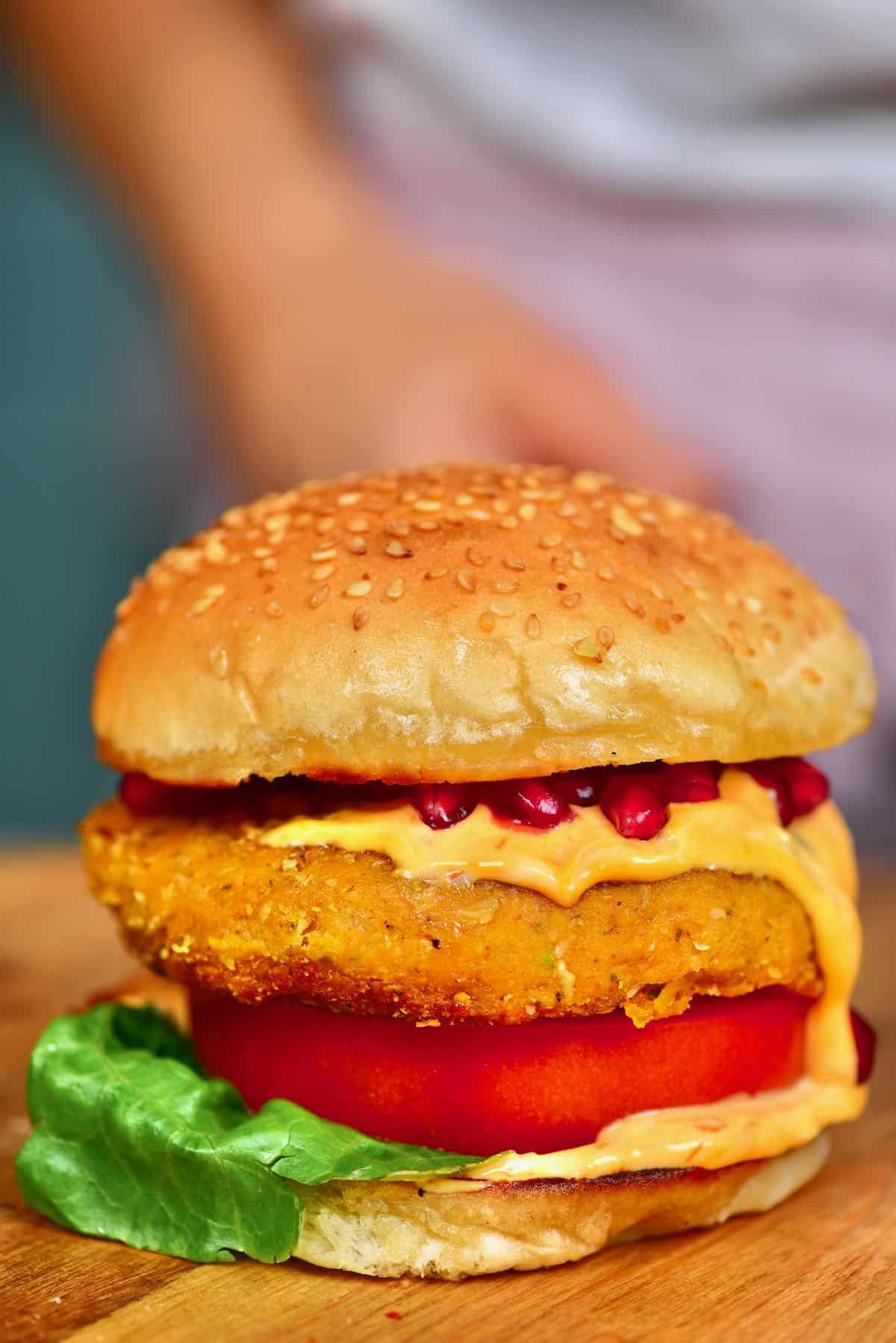 Pumpking burger