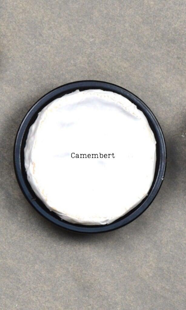 Camembert cheese roll