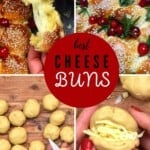 Steps for making cheese buns