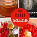 Steps for making Chili sauce