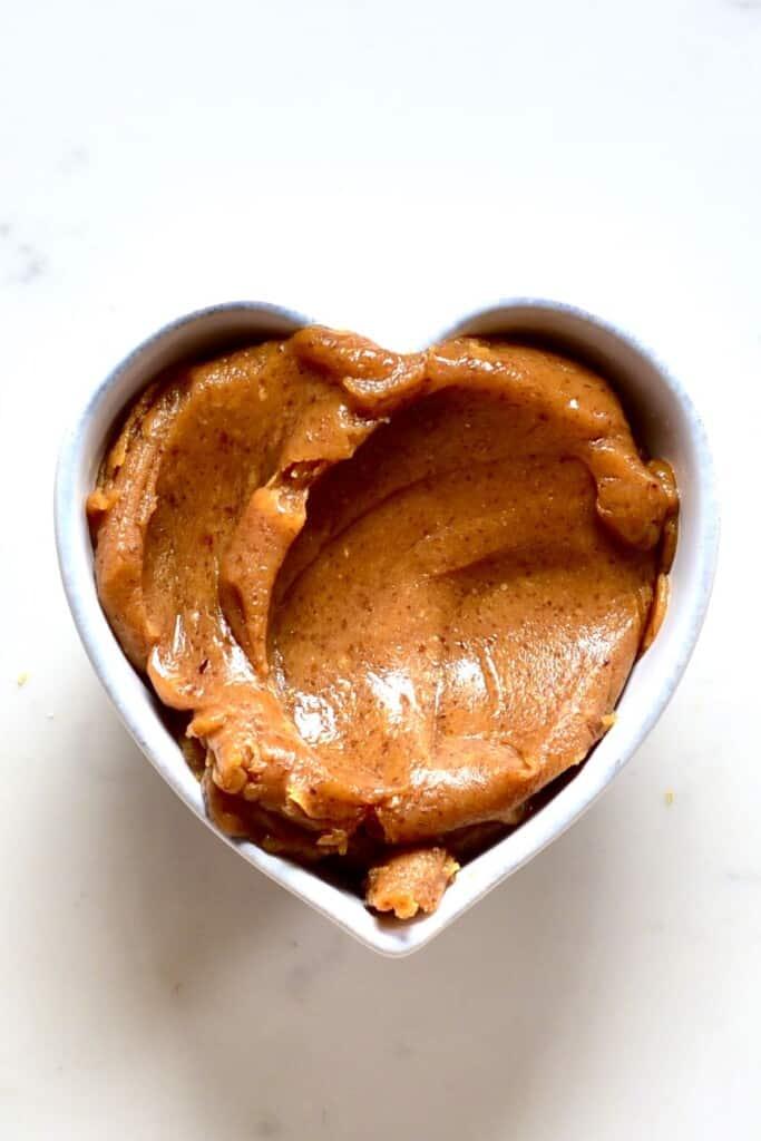 A bowl of Healthy Caramel Sauce