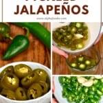 Steps to making pickled Jalapeños