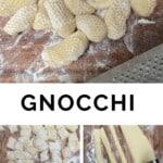 Steps for making Potato Gnocchi