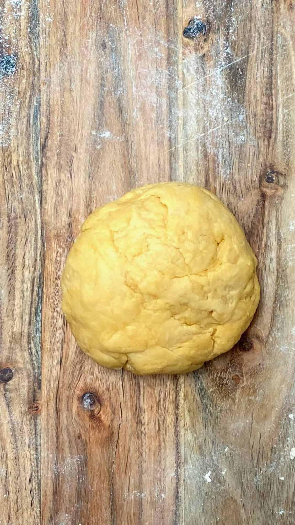 Ravioli dough set aside to rest