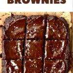 Nice squares of fudgy brownies