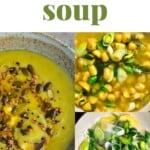 Steps for making potato leek soup