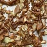 Potato Peel Chips on a flat surface