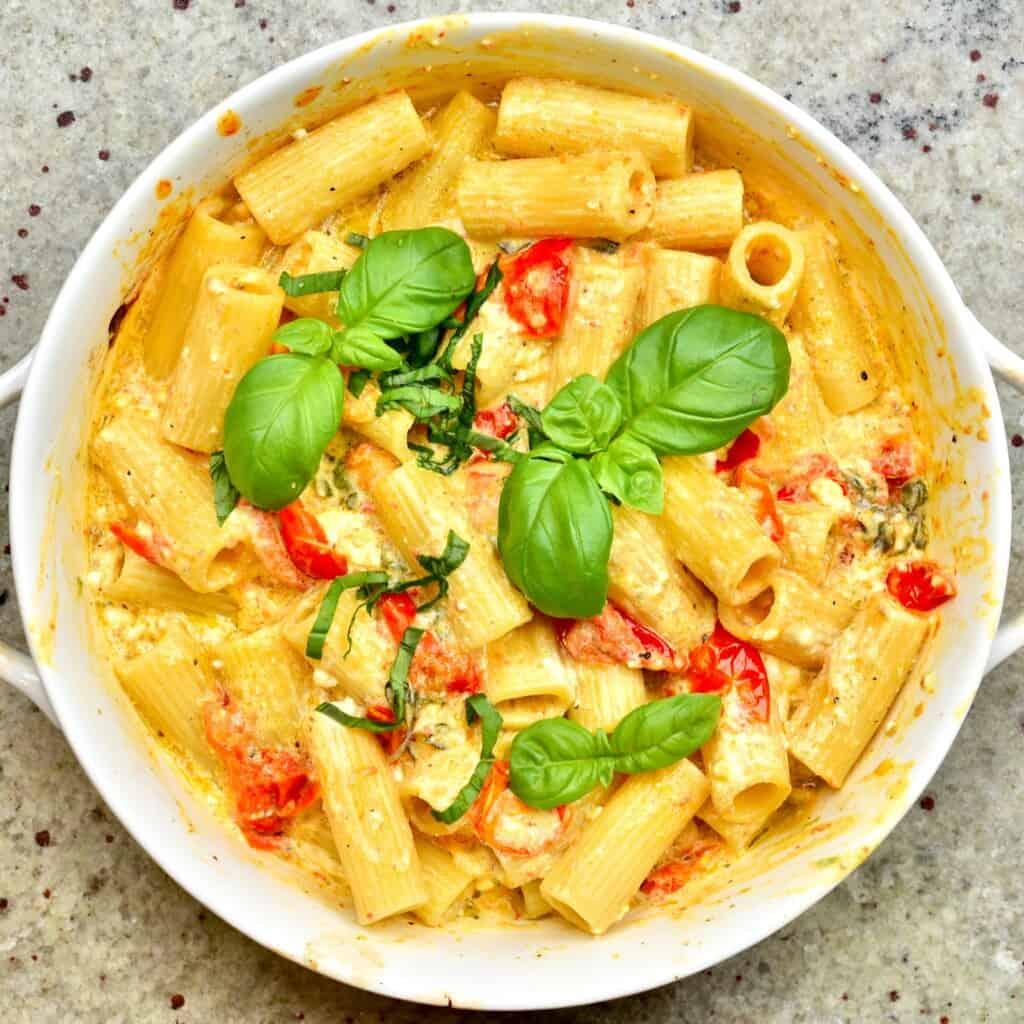 Baked Feta tomato Pasta