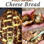 Steps for making Cheesy Pull-Apart Bread