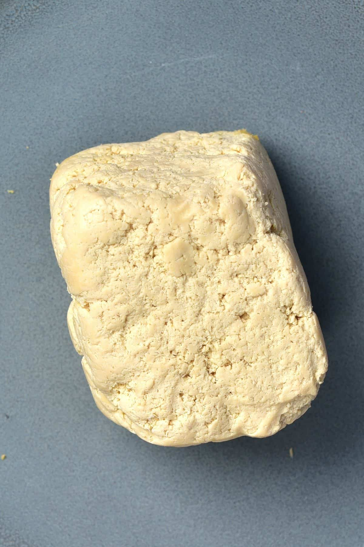 A block of firm tofu