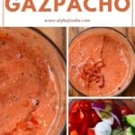 Steps for making Gazpacho cold soup