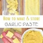 How to freeze garlic methods