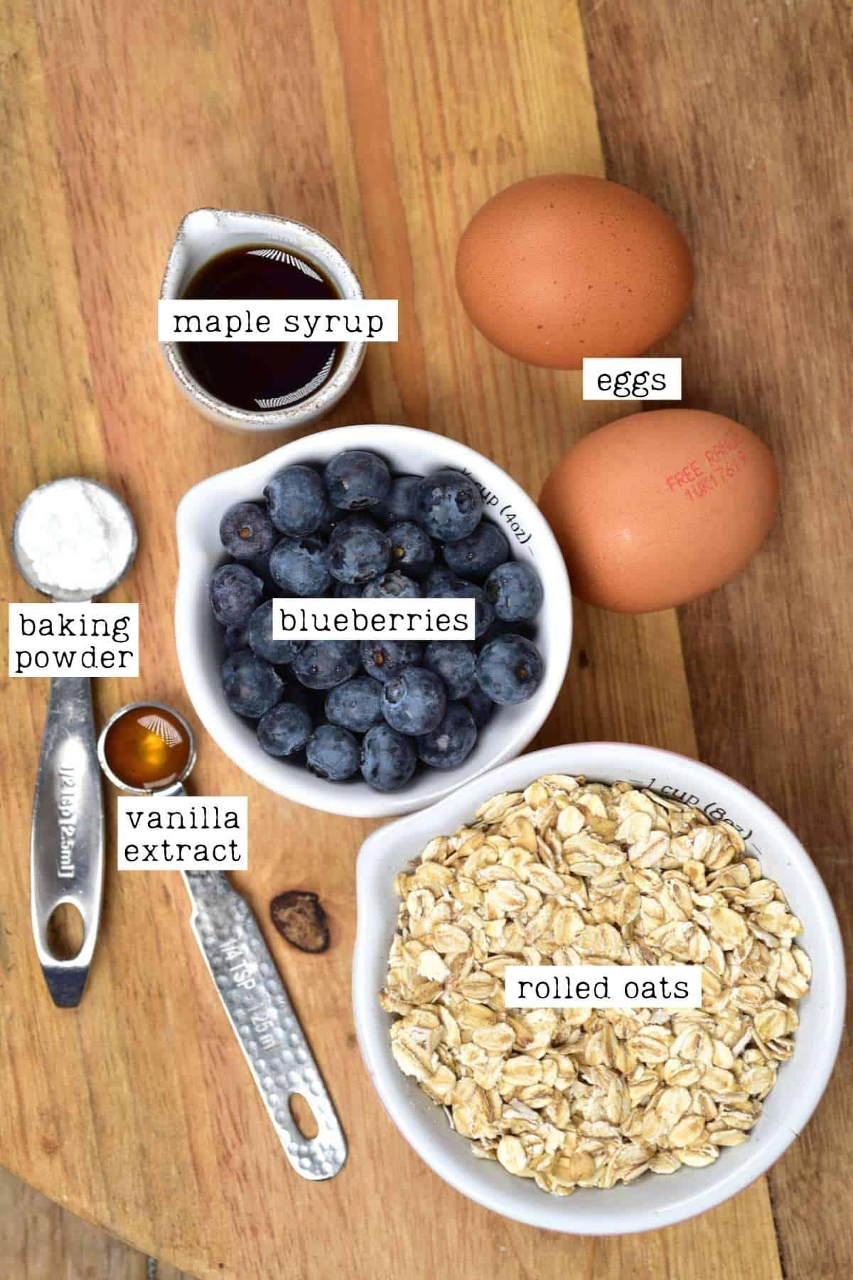 Ingredients for Dutch Mini Pancakes