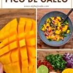 Steps to making mango salsa