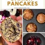 Steps for making Mini pancake balls