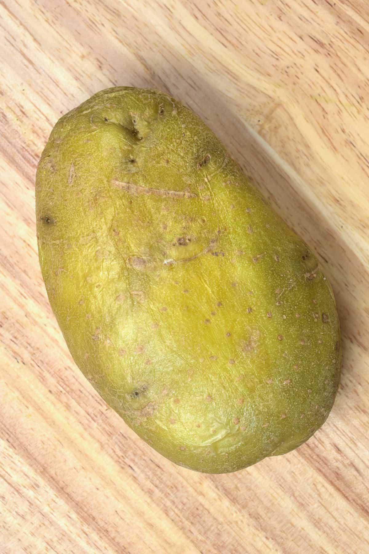 One large potato