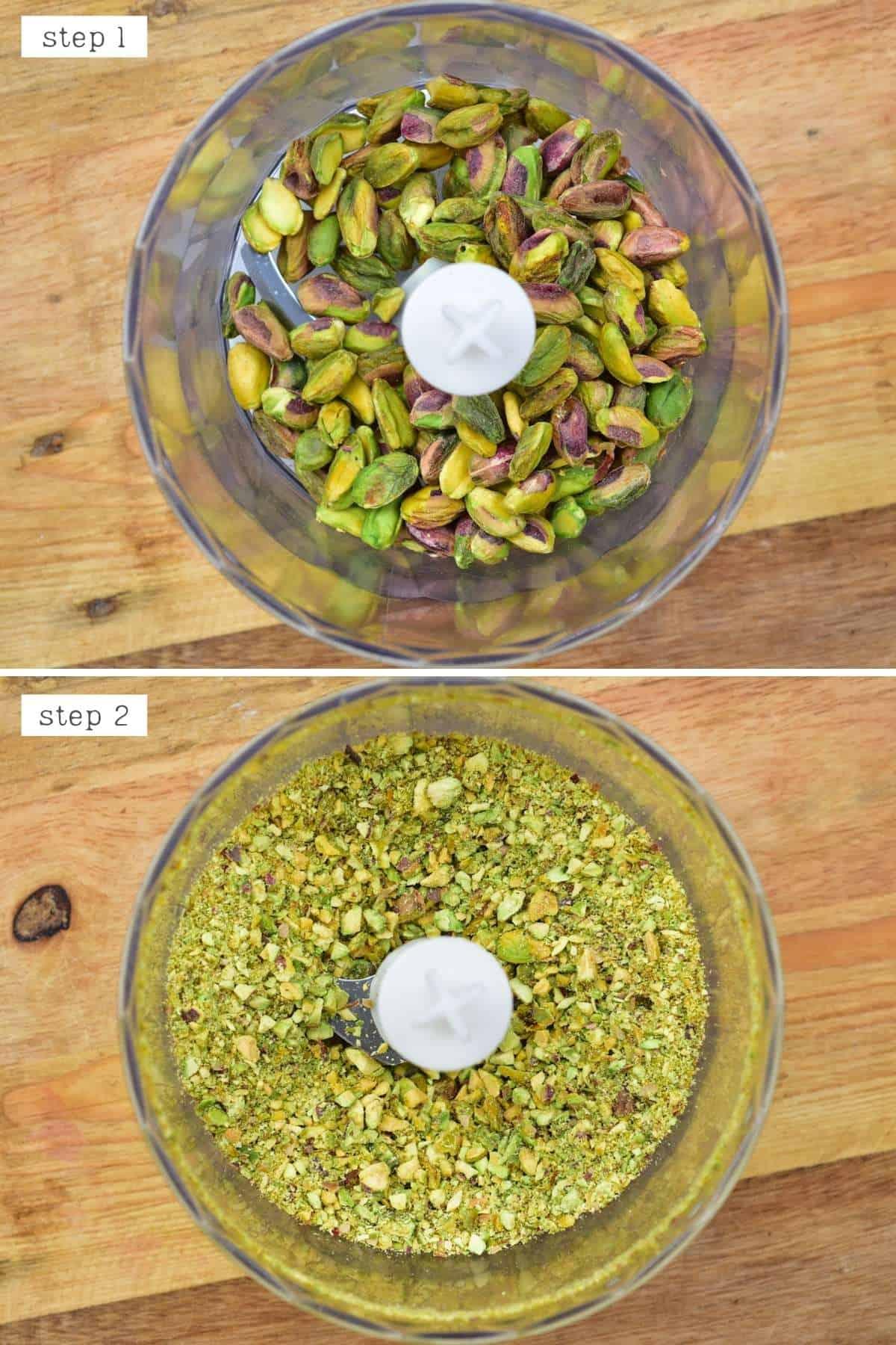 Processing pistachios