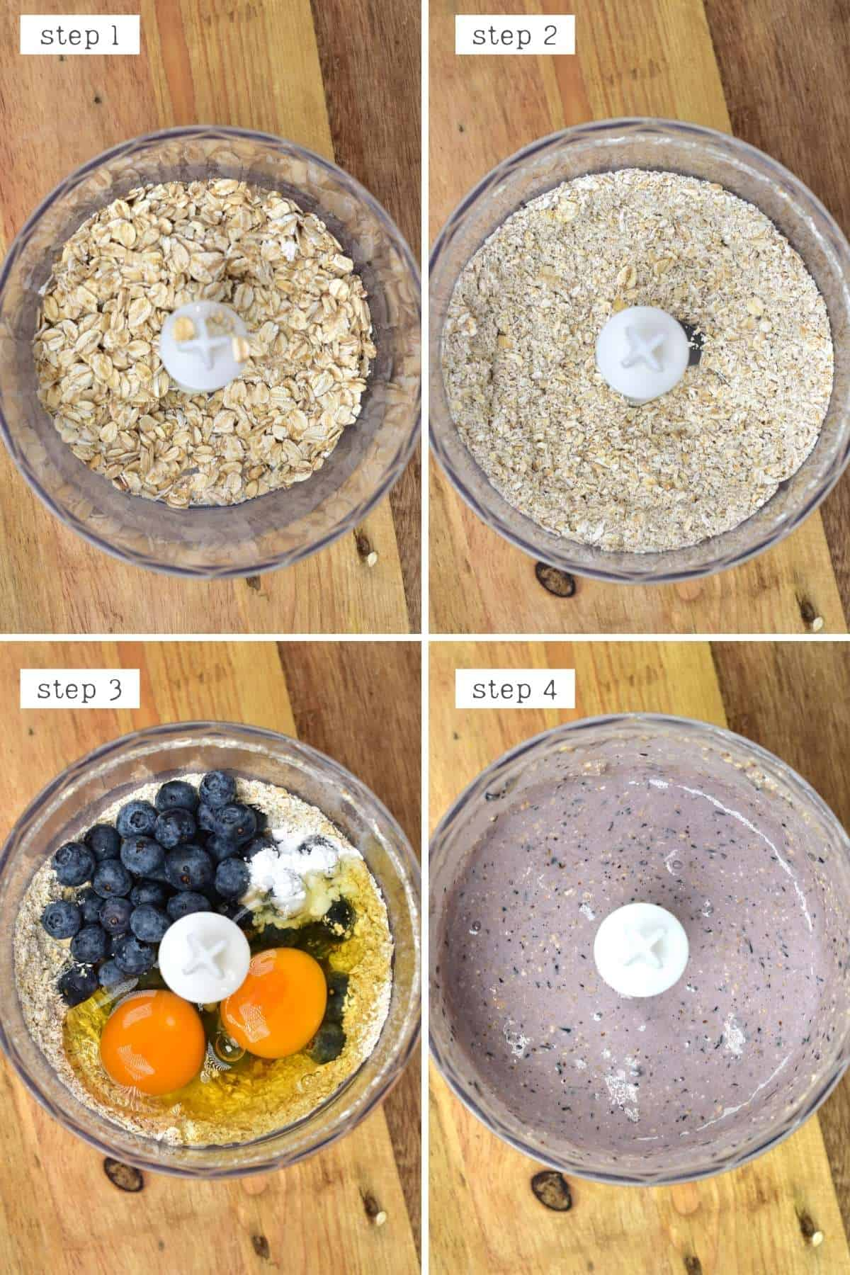 Steps for making mini Dutch pancakes