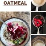 Steps for making oatmeal