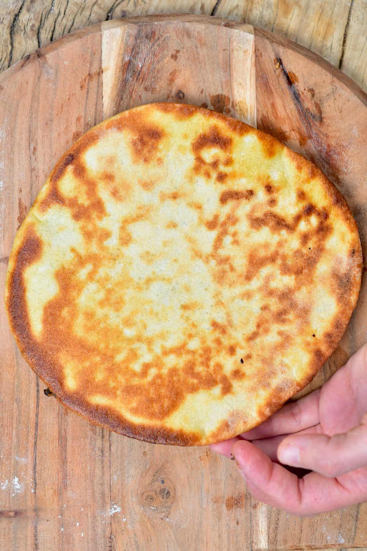 Middle eastern flatbread / manakish