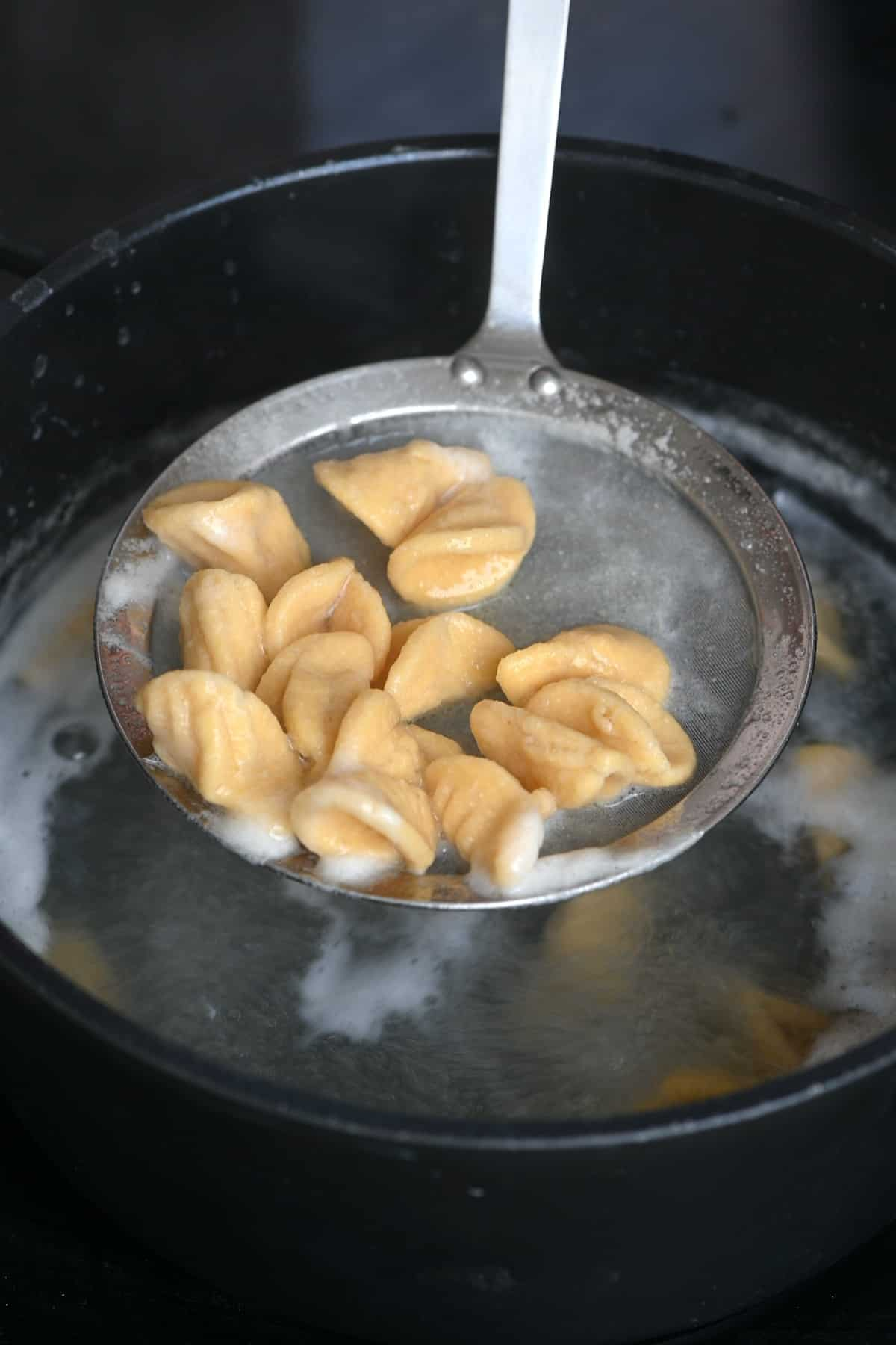 Cooking Chickpea pasta