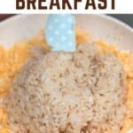 Egg Fried Rice breakfast