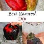 Steps for making Eggplant Red Pepper Dip